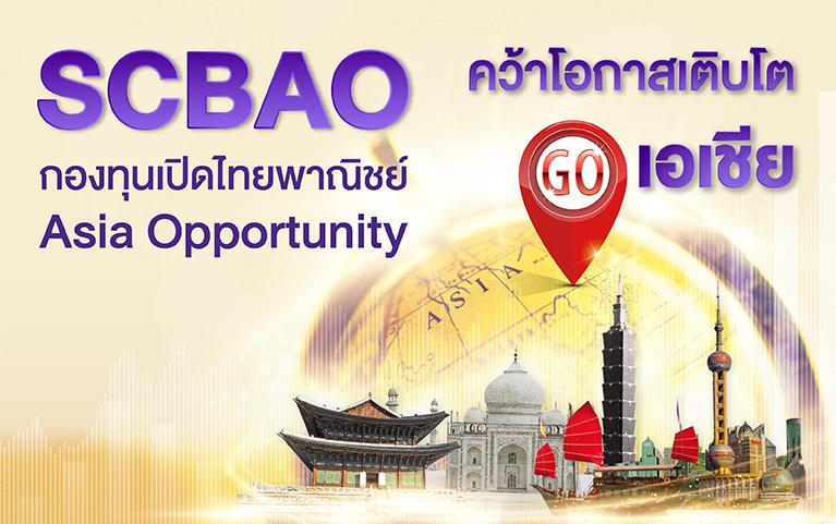 กองทุนเปิดไทยพาณิชย์ Asia Opportunity (ชนิดสะสมมูลค่า)